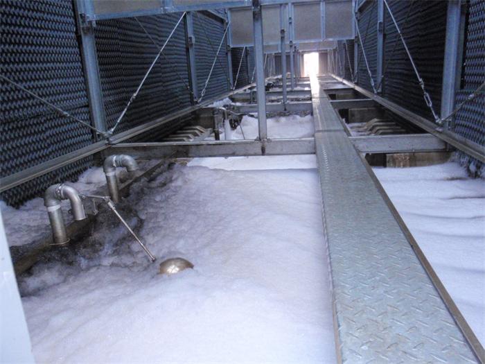 富士康冷却塔循环水系统清洗预膜