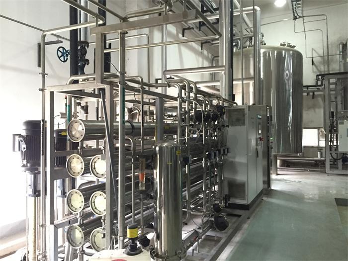 苏州全自动软水系统超纯水设备出现气阻的处理方法